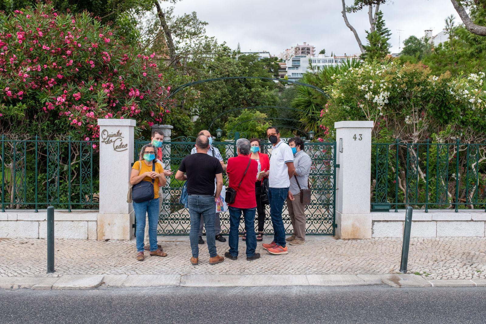 visita Evoluir Oeiras à Quinta do Cedro Dafundo