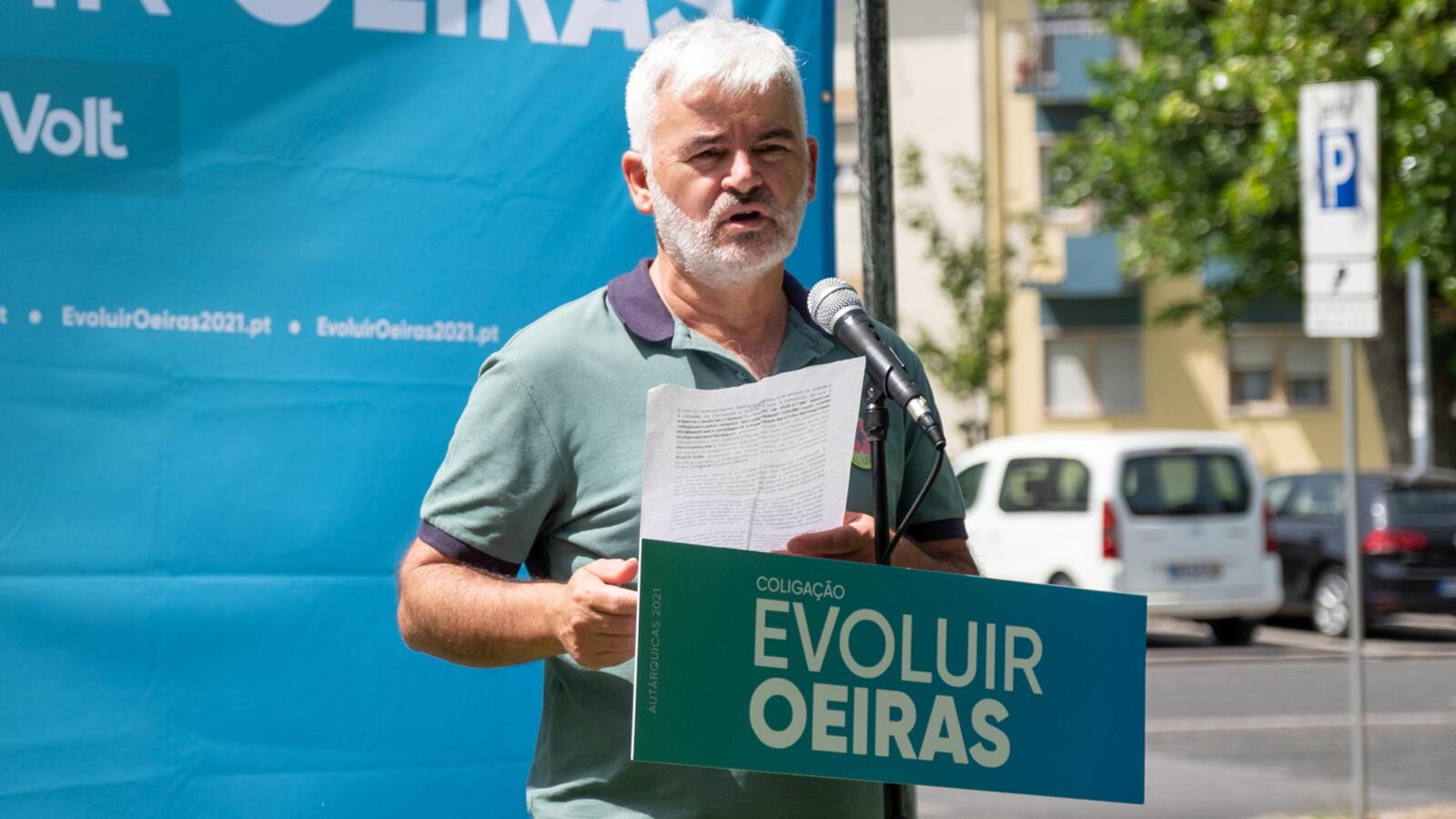 Apresentação da candidatura de José Araújo União de Freguesias de Carnaxide e Queijas