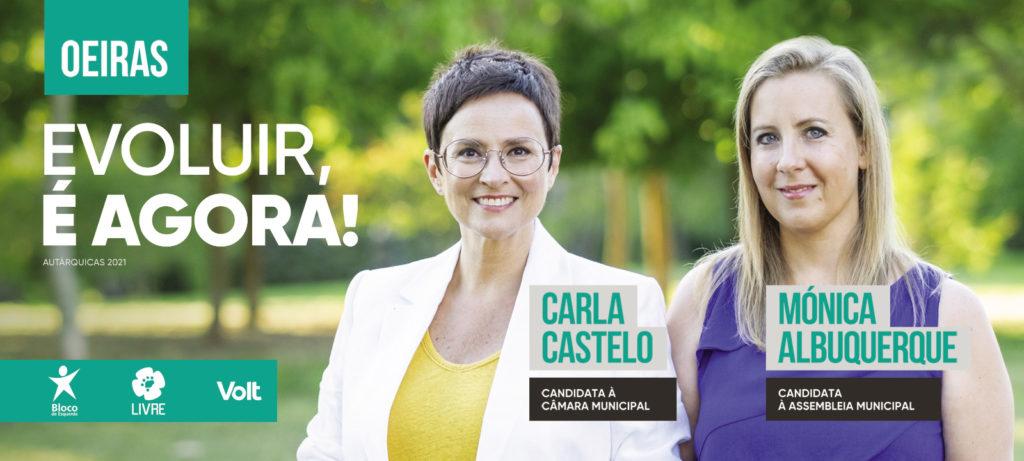 Carla Castelo - Monica Albuquerque - Coligação Evoluir Oeiras